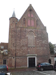 Geertrudiskapel, thans Waalse Kerk
